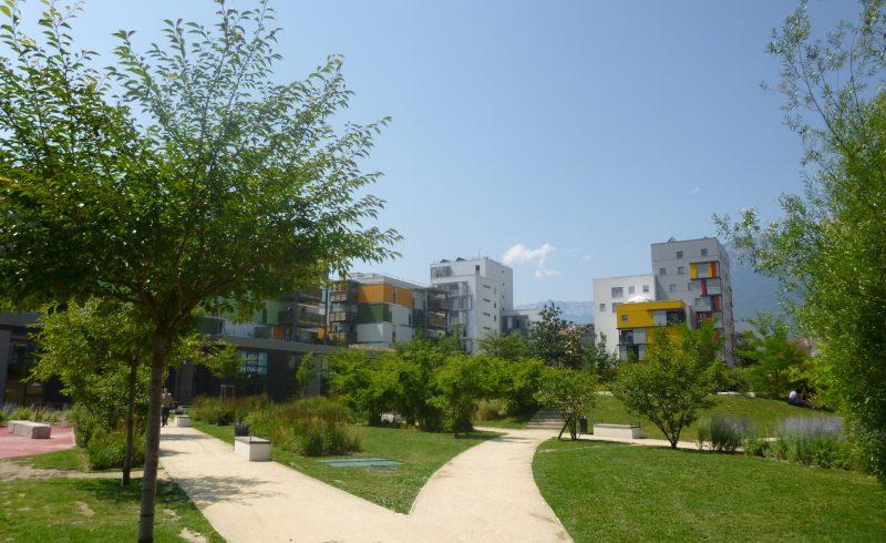 L'eco quartier parvient à réconcilier habitat et nature