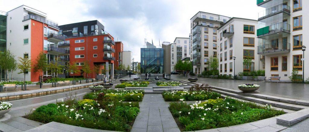 Le développement d'un eco quartier transforme complètement la ville