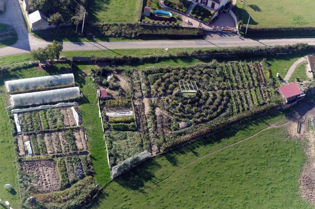 Le permaculture design enseigne comment utilsier l'espace pour obtenir les meilleurs résulats