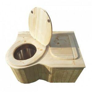 Les toilettes sèches sont pratiques et faciles à installer